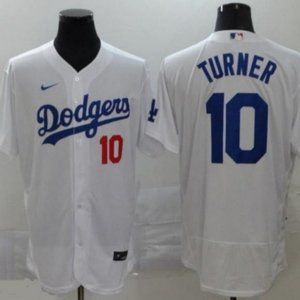 Men's Los Angeles Dodgers Justin Turner Jersey 10